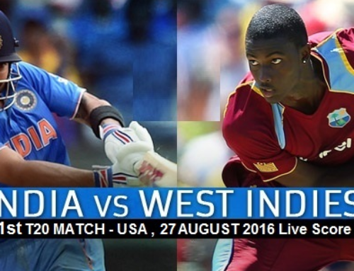India vs West Indies T20 in United States – Teams, Score, Live Commentary