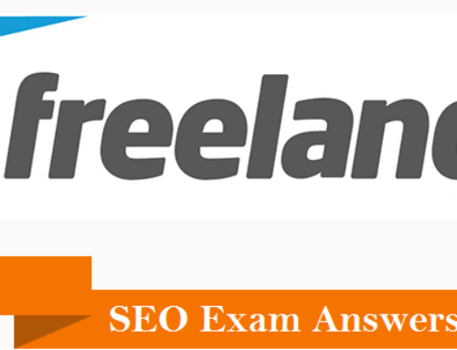 Freelancer and Upwork SEO Level I Exam Answers