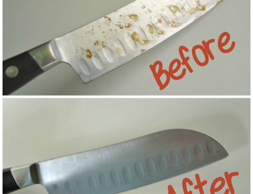 How to Remove Rust from Knives with Baking Soda