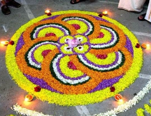 New Flower Rangoli Design Patterns – Diwali Images