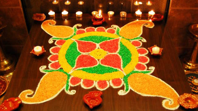 diwali rangoli freehand download
